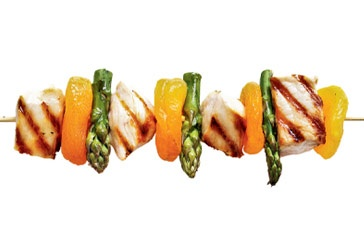 Apricot chicken kebabs. | rec·i·pe | Pinterest