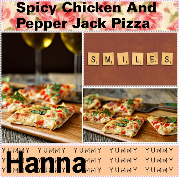 "Spicy Chicken Pepper Jack Pizza ♥"" by the-cook-book liked on ..."