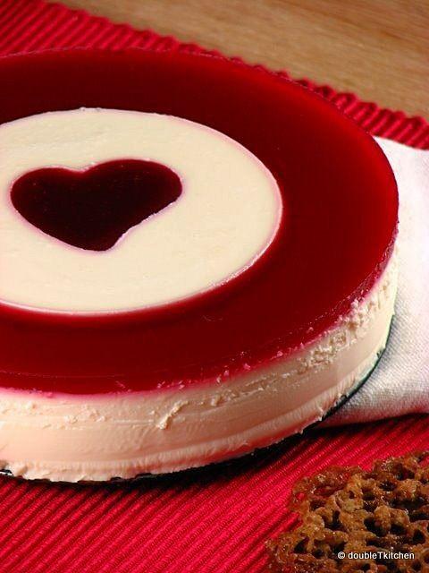 Cranberry & Lemon Panna Cotta   Desserts   Pinterest
