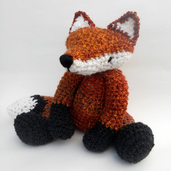 Crochet Fox SUPERSOFT
