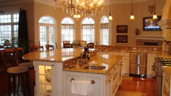 My Dream Home Has A Country Farmhouse Kitchen