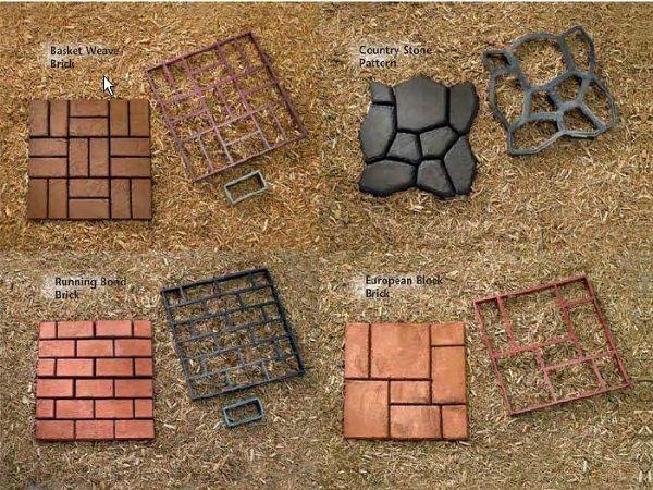 Concrete molds home depot