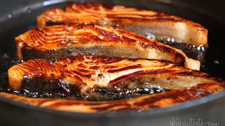 Honey-Teriyaki Salmon   PIN-Apetit!   Pinterest