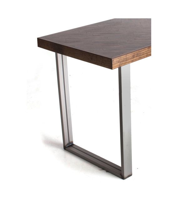 Counter Height Metal Table Legs : Bar Height Table Legs Rect Stock Raw Steel by UnionFurnishings, $180 ...