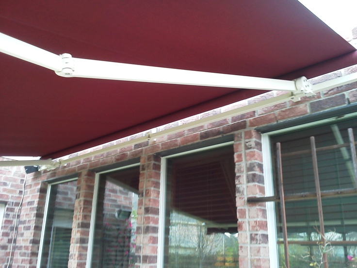 Awning Sunsetter Motorized Retractable Awnings