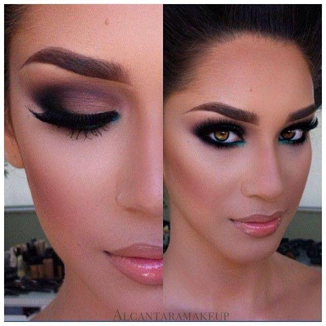 Dramatic Wedding Eye Makeup : Eyeshadow Techniques Beauty and Cosmetics Pinterest