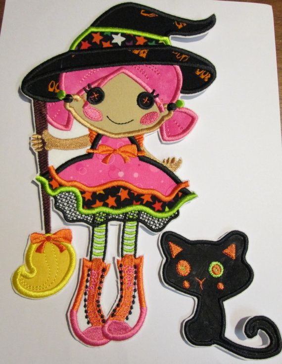 halloween applique embroidery designs