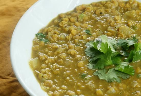 Red Lentil Dal - recipe good for the spring season or kapha types