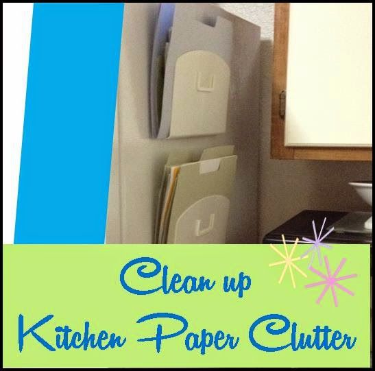 Clean up paper clutter