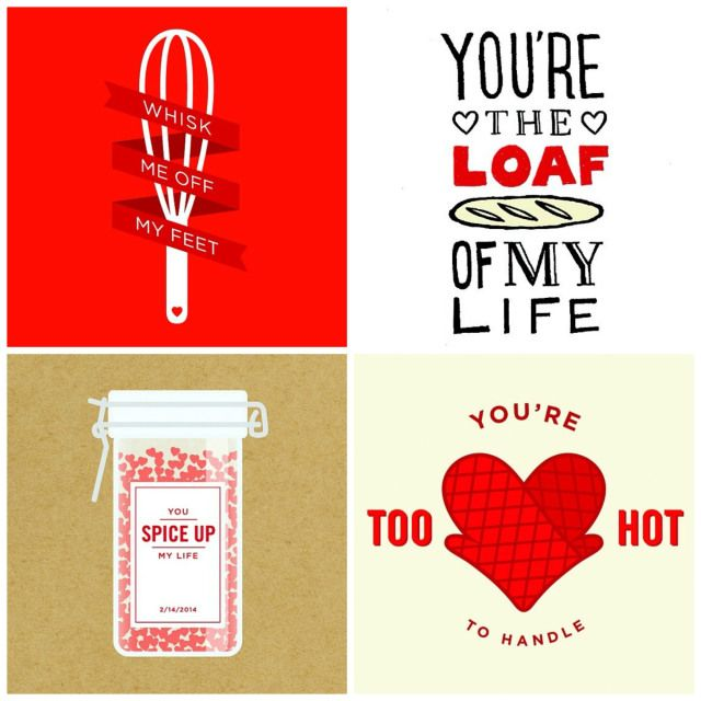 valentines day puns with food