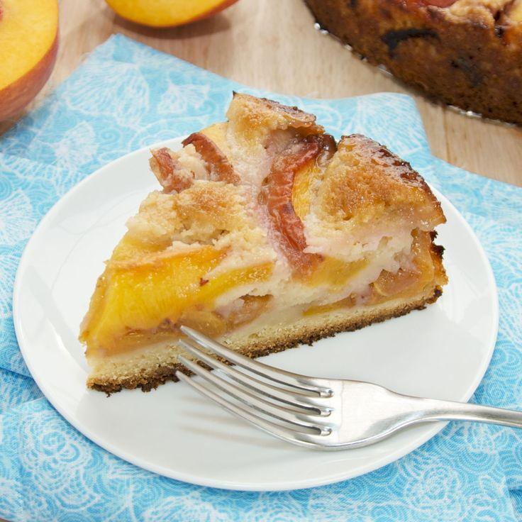 Summer Peach Cake | Recipe