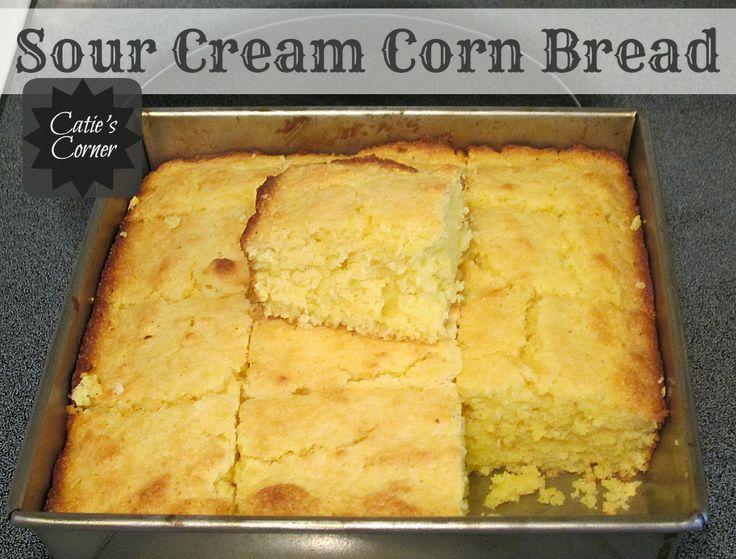 ... Corner: Sour Cream Corn Bread {This is the moistest corn bread ever