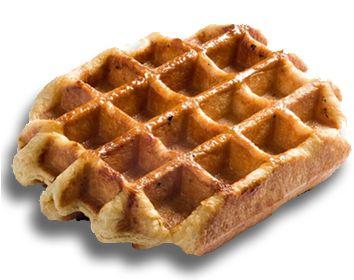 Liege Waffle Recipe | Breakfast | Pinterest