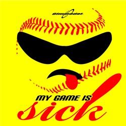 Softball  My Game is Sick  www.gimmedatusa.com