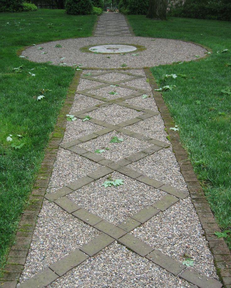 Luv pea gravel garden paths garden paths pinterest for Garden path