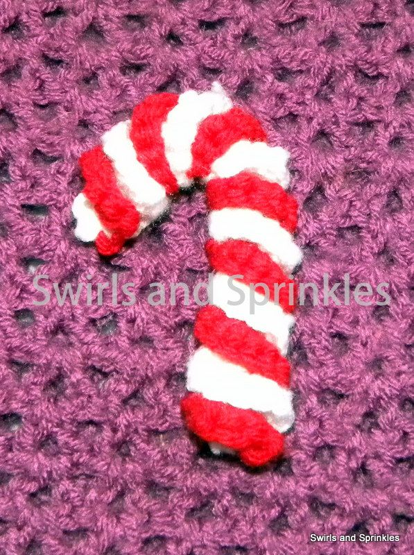 Candy cane ornament free pattern crafts pinterest