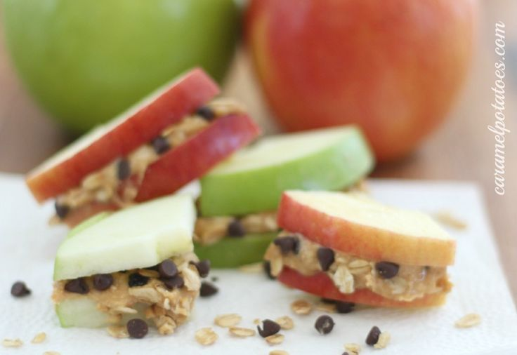 Apple Sandwiches | Delicious Delicacies | Pinterest