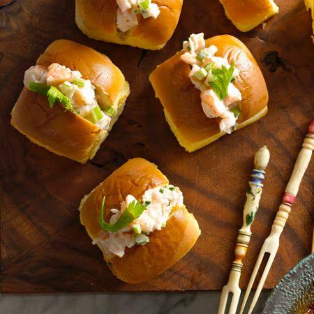 Tapas: Mini Shrimp Rolls | Favorite Recipes | Pinterest