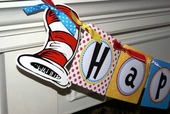 Dr. Seuss party!