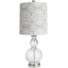Lace Lampshade Knock-Off