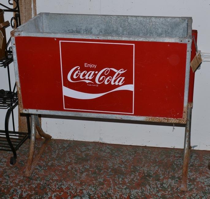 Coke cola ice chest vintage