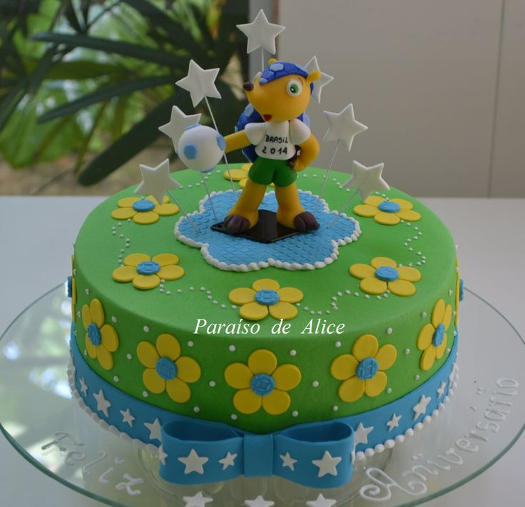 Copa no Brasil #bolodofuleco #cakes #cakedesign