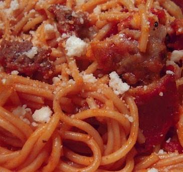 Supreme Pizza Spaghetti Casserole | Recipes | Pinterest