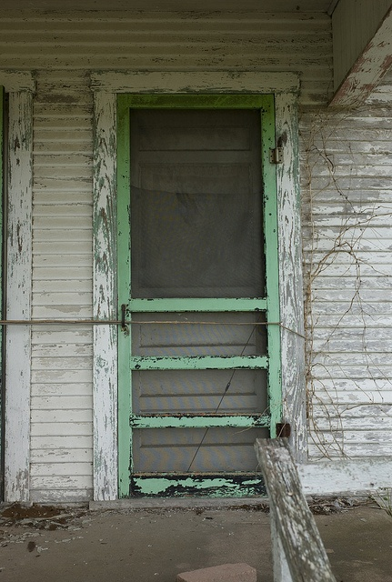 old chippy screen door
