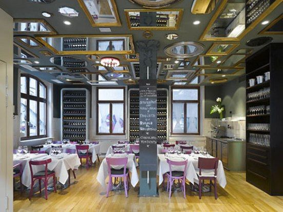 Small Restaurant Design Interiors Pinterest