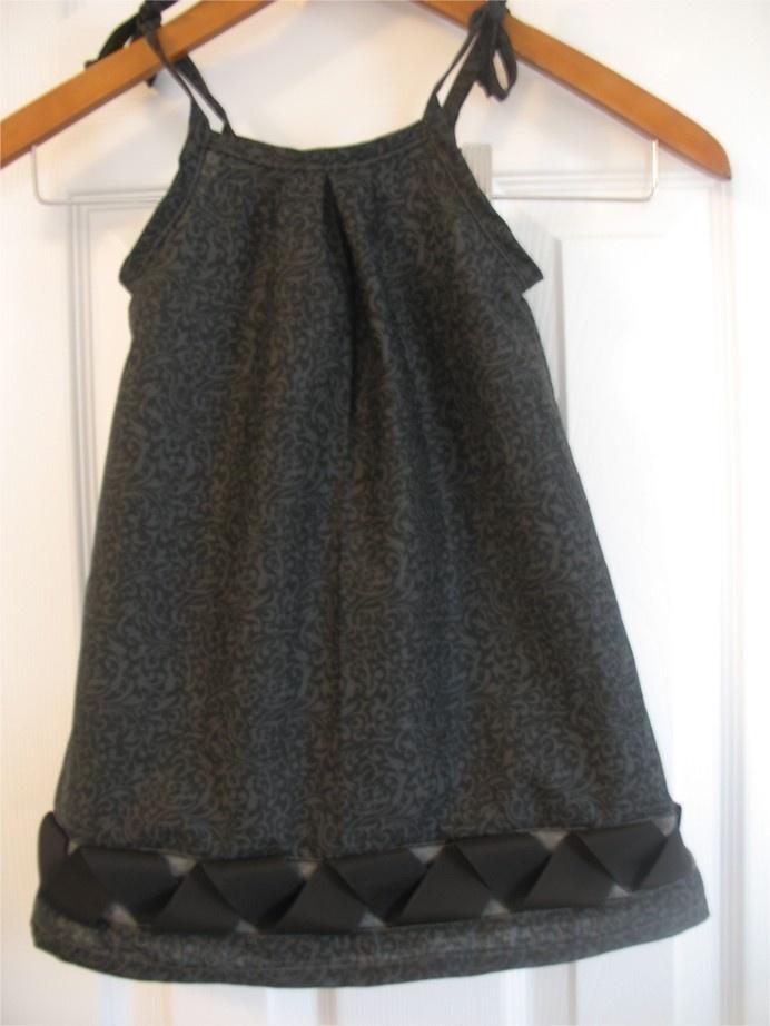 Galerry slip dress tutorial
