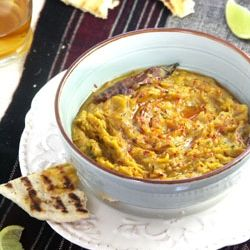 Sukhi Dal/Warm Lentil Spread - flavored with Indian spices, this is a ...