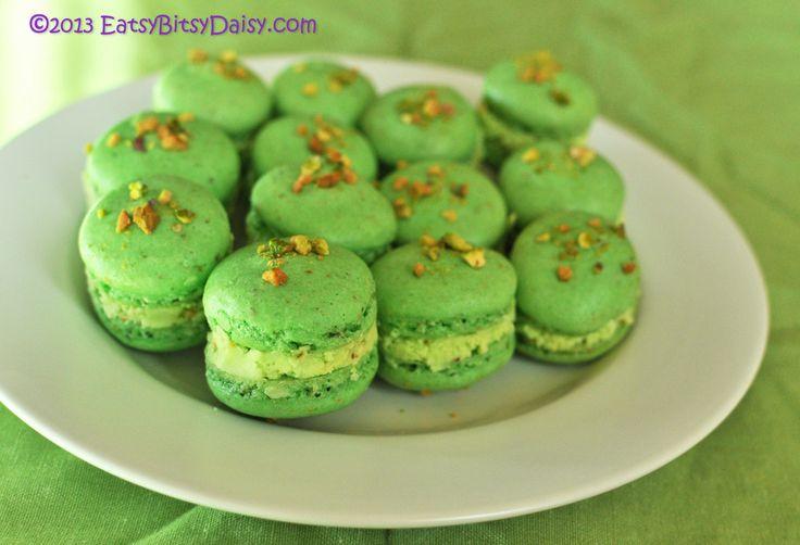 Creme Brulee Pistachio Macarons Recipes — Dishmaps