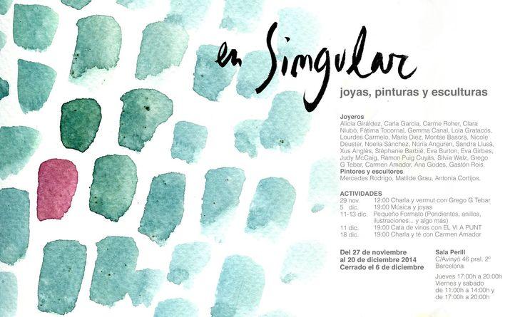 """Joyas Sensacionales - """"En Singular"""" - Sala Perill"""