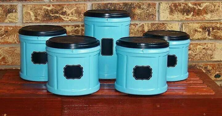 Coffee can canister craft ideas pinterest - What are coffee cans made of ...
