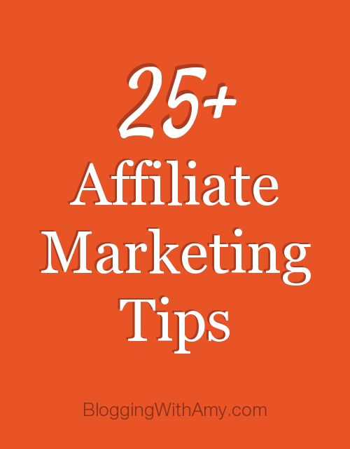 ❥ 25+ Affiliate Marketing Tips