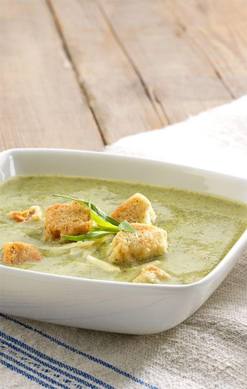 Broccoli & Cheddar Soup Sautéed shallots, potatoes, broccoli and ...