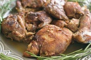 Nutmeg+Nanny+Honey+Glazed+Chicken+Thighs:+Secret+Recipe+Club