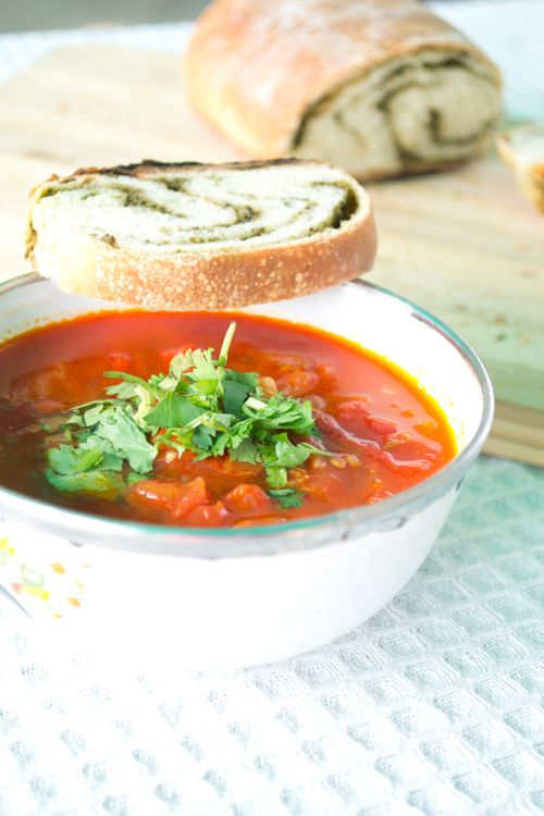 Chunky Roasted Tomato Soup | Yummyyyy get in my tummy | Pinterest