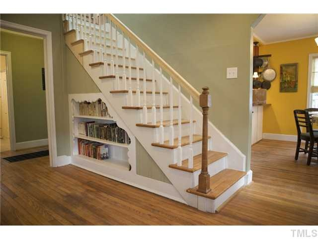 under stairs bookcase beautiful homes home ideas pinterest