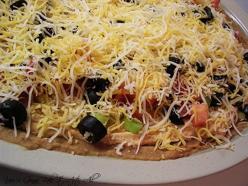 Layered Taco Dip | recipes | Pinterest