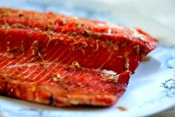 way to nourish your body with Omega 3, this sake ginger glazed salmon ...