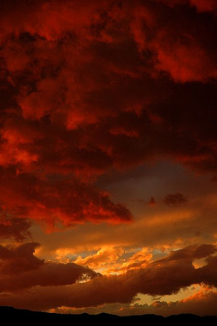 Red Sky In My Eye! Reminds Me Of The Skies & Sunsets at Lake Havasu ...
