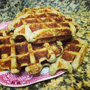 Paleo Zucchini Waffles - sub the cinn, nutmeg, etc. for smoky spice ...