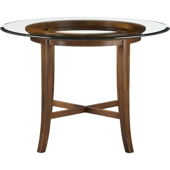 Dining Table Crate And Barrel Dining Table Glass