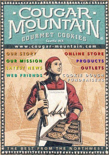 Cougar Mountain Gourmet Cookies - especially Lemon Snickerdoodles!