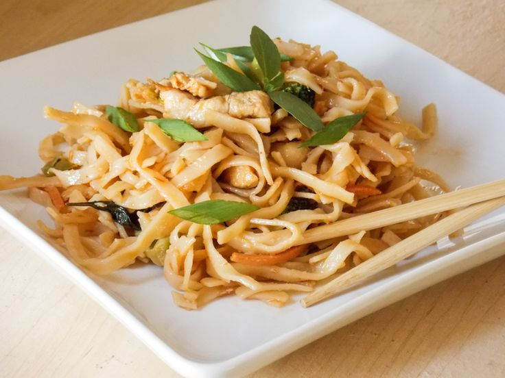 Thai Drunken Noodle recipe. | My Foodgasms | Pinterest