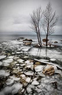 frozen lake  © Vedran Vidak