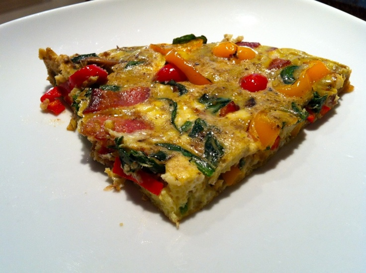 Baked Frittata With Artichokes, Sun Dried Tomatoes, And Feta Cheese ...