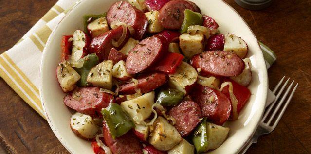 Hillshire Farm Sausage and Potato Bake hubby wants me to make this for ...