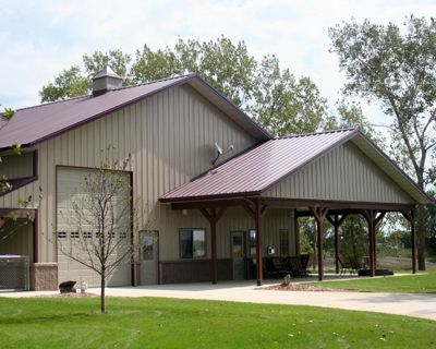 Metal garage with living quarters joy studio design for Rv barn with living quarters